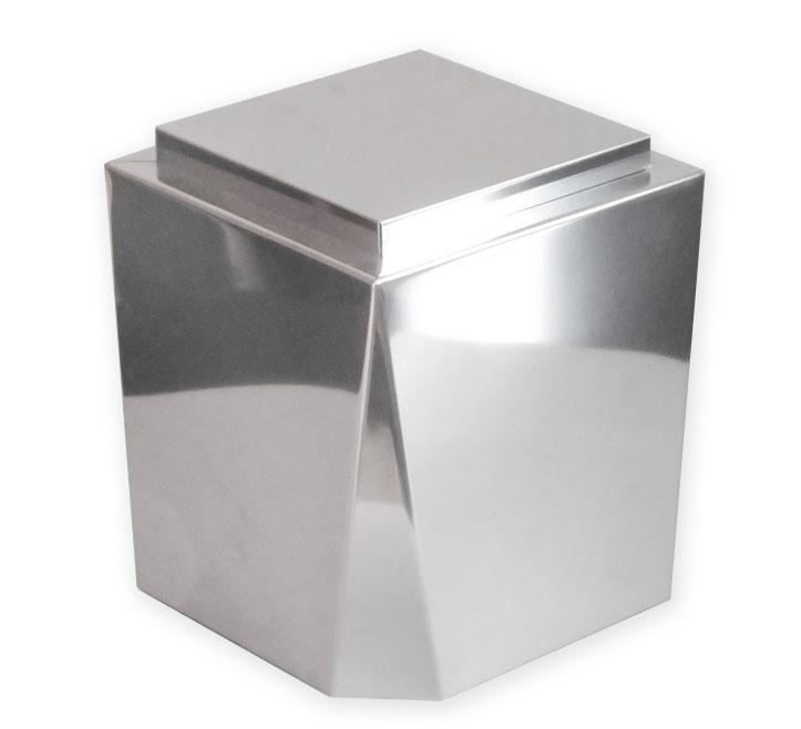 Urna ceneri acciaio inox