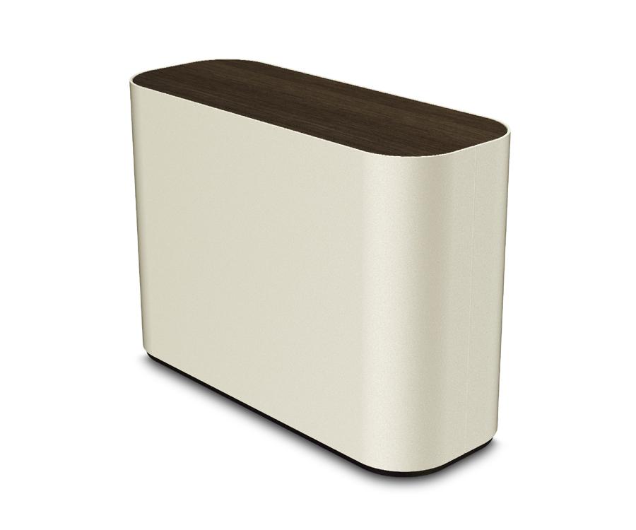 urna metallo legno